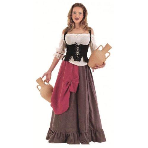 Limit Mittelalter Wirtin Kostüm (Mittelalterliche Kostüm Wirt)