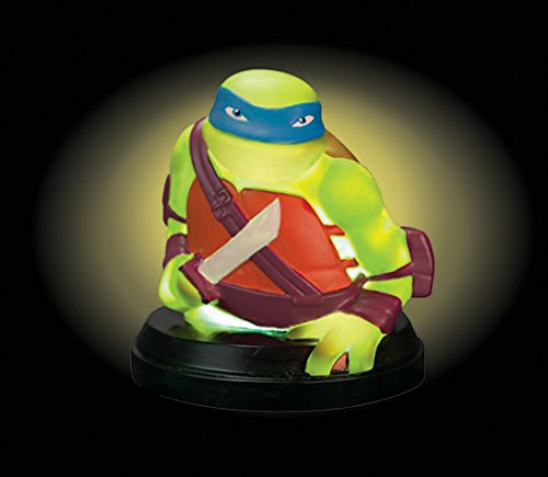Image of Teenage Mutant Ninjas Turtles Leonardo Illumi-Mate Colour Changing Light, Plastic, Green,