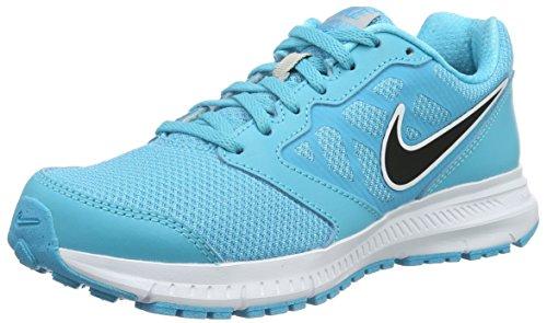 Nike Donna Wmns Downshifter 6 Scarpe da Ginnastica Basse, Blu (Azul (Gamma Blue / Blck Mtllc Slvr Wht)), 37.5 EU