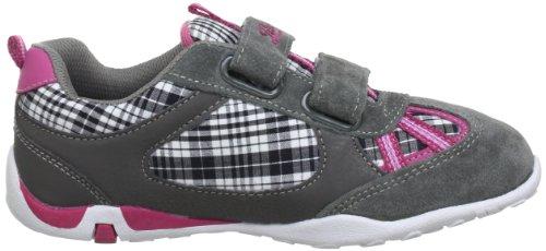 Lico Stacy V 530228, Sneaker ragazza Grigio (Grau (grau/pink/schwarz))