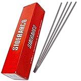 TrAdE shop Traesio ELETTRODI per Ferro E Acciaio SIDERARCO 48A 300 MM X D. 2,5 MM Confezione 230PZ