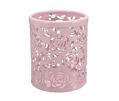 Out Blume Schreibtisch Stift Organizer Behälter Haus Dekoration,Rosa (Rosa Dekoration)