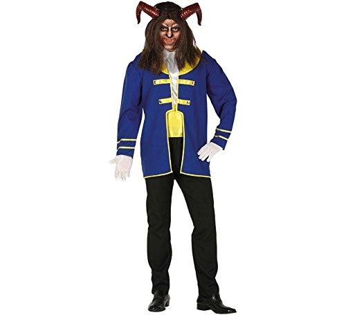 Kostüm Mann Biest Mann Größe L 52 (Schöne Kostüm)