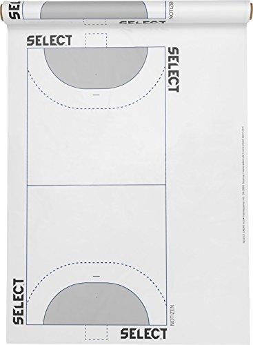 Select Handball Spielplanfolie, Weiß, One Size