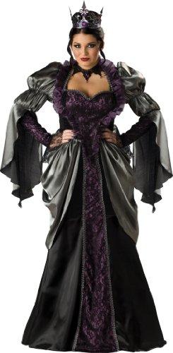 InCharacter in Charakter Kostüme LLC Wicked Queen Erwachsene Lange Ärmel Gewand Schwarz Gr. XXXL, Schwarz - Schwarz (Incharacter Kostüme Llc)