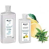 LAMPE BERGER Vorteilsset - 2 Düfte - 1000 ml Neutral und 500 ml Belebende Frische/Zitronen Verbene/Zeste de Verveine... preisvergleich bei billige-tabletten.eu