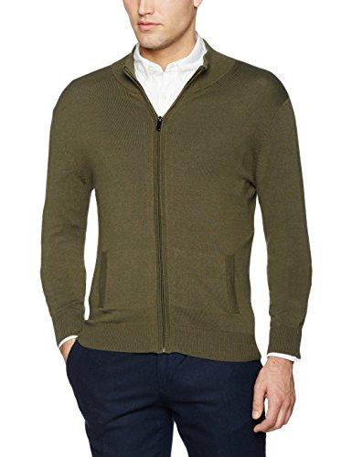 NIZZIN Evan, chaqueta punto Hombre, Verde (Green), X-Large