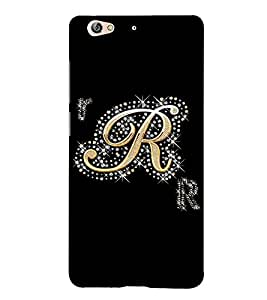 Fuson Designer Back Case Cover for Gionee S6 (A Diamond Alphabet R Theme)