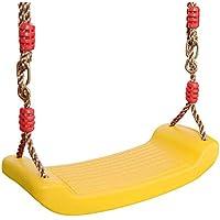 JTYX Silla de Columpio para niños Ocio al Aire Libre Sillas Colgantes Hamaca Equipos de Entretenimiento para niños,Yellow,Outdoor