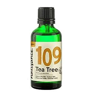 Naissance Teebaumöl Bio (Nr. 109) 50ml – 100% naturreines ätherisches Öl, natürlich, Bio-Zertifiziert, vegan