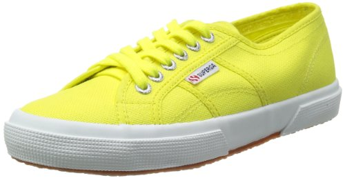 Superga 2750 Cotu Classic, Baskets mixte adulte Amarillo (Limelight)