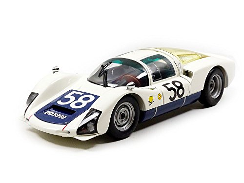 Minichamps 100666158Porsche 906K–Le Mans 1966–Echelle 1/18, weiß/Schwarz