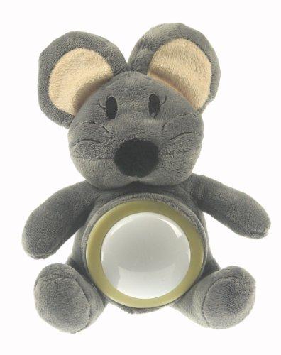 Niermann Standby 80011 Plüsch Nachtlicht Maus mit LED