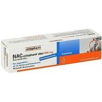 Preisvergleich für NAC-ratiopharm akut 600 mg Brausetabletten, 20 St.