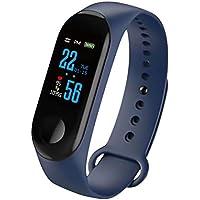 AOZBZ Fitness Tracker Écran Couleur Smart Sport Fitness Bracelet Moniteur de fréquence Cardiaque Moniteur de Tension artérielle Tracker Activité pour Hommes Femmes