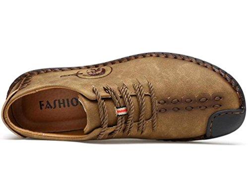 Scarpe da parati scarpe casual Leisure Easy-to-slip scarpe da parati scarpe da uomo gentili Khaki