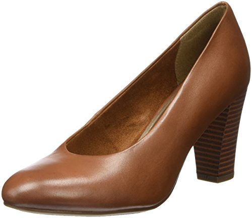 Tamaris Damen 22431 Pumps, Braun (Cognac), 40 EU