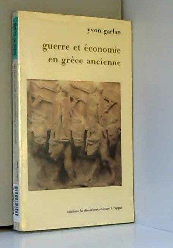 Guerre et économie en grece ancienne