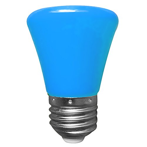 LED Mini Gl¨¹hbirne, Minkoll 220V 1.5W E27 LED Licht Ball Lampe Globe Golf Bulb (Blau) -