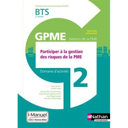 Domaine d'activités 2 – Participer à la gestion des risques de la PME - 2e année
