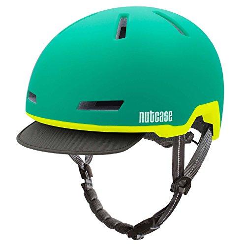 Nutcase Aurora Green Matte Tracer Helm, L/XL /56-60cm