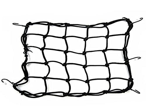 Grifri, rete portapacchi per moto e bici, per serbatoio, elastica, con 6ganci