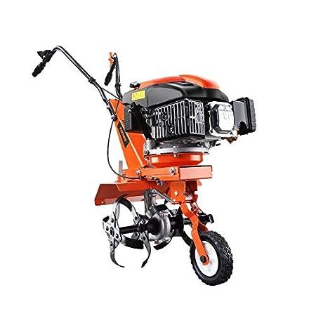 FUXTEC Benzin Gartenfräse FX-AF1139 Motorhacke Ackerfräse Bodenfräse Bodenhacke Kultivator mit Räder 139ccm 2,2KW