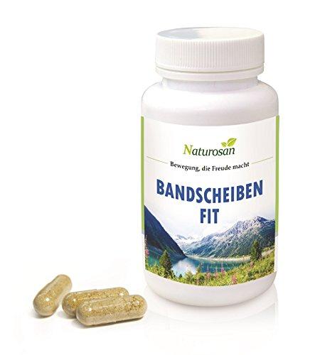 Alpvital Bandscheiben Fit 60 Kapseln – Glucosamin GAG Gelenke Bindegewebe Collagen