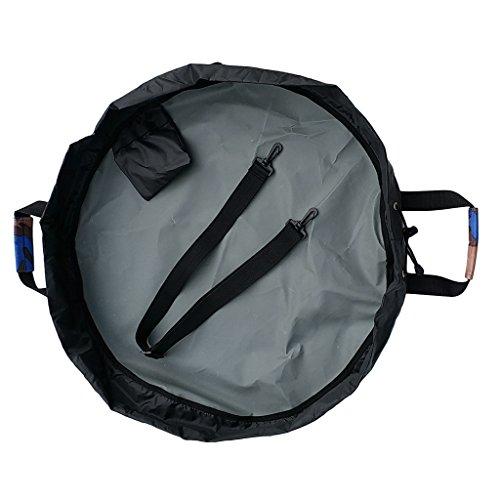 e Tasche Beutel Surf Wetsuit Bag Changing Mat für Neoprenanzüge Surf Accessories - Blau Camo ()