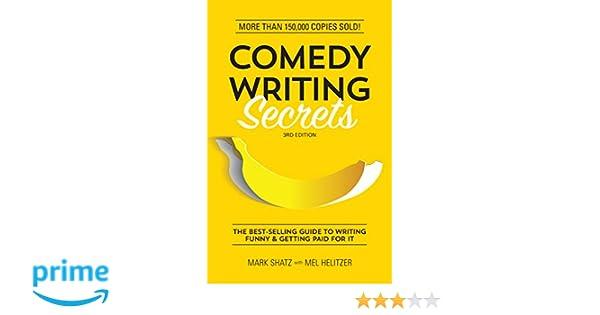 Comedy Writing Secrets Melvin Helitzer Pdf