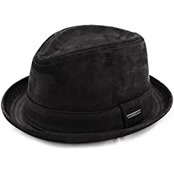 Stetson - Sombrero trilby cuero hombre Radcliff - talla M - noir-1