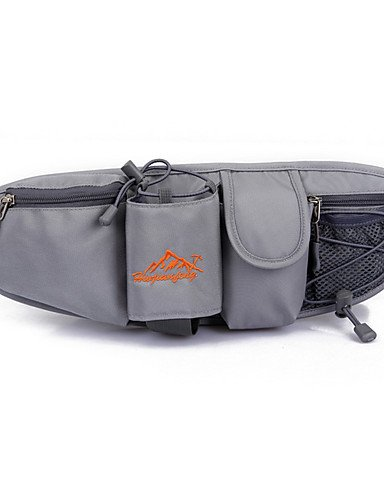 ZQ 10-20 L Hüfttaschen / Gürteltasche Camping & Wandern / Angeln / Klettern / Autorennen / Reisen / Sicherheit / Radsport / LaufenDrinnen / rose red