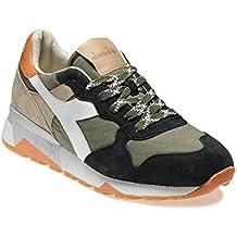DIADORA HERITAGE uomo sneakers basse TRIDENT 90 C SW 201.161304 01 C6158 41  VERDE-BEIGE 98927a69421