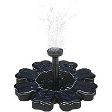 Anself 8V 1.6W Blume Form Solar Teichpumpe Schwimmende Bürstenlose Brunnen  Wasserpumpe Mit 4 Verschiedenen