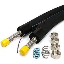DN20 – Tubo solar, cable solar acero inoxidable tubo corrugado aislado, ...