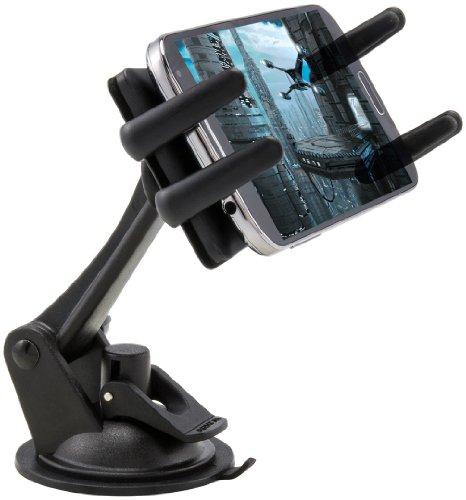 Arkon Windschutzscheibe Dash Handy KFZ-Halterung für iPhone X 876S Plus 876S Galaxy Note Edge 8S8S7Retail schwarz (Iphone-auto-halterung Arkon)
