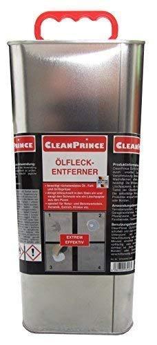5 Liter Ölfleckentferner Reiniger Reinigungsmittel Ölfleck Ölflecken Fettflecken Wachsflecken auf Stein Pflaster etc. von CleanPrince