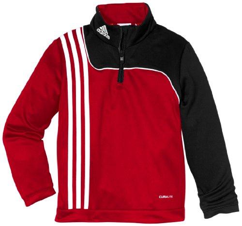 adidas Jungen längärmliges Shirt Sereno 11 Training Top, University Red/Black, 128, V38002