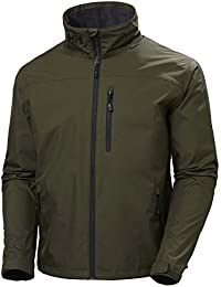 Helly Hansen Crew Jacket Chaqueta, Hombre, Forest Night, L