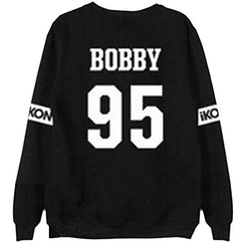 Partiss - Sweat à capuche - Femme BOBBY 95 Black