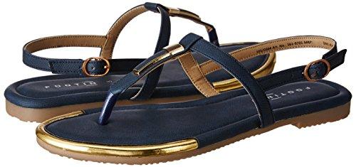 Footin Women's Blue Fashion Sandals-7 UK/India (40 EU) (5619701)