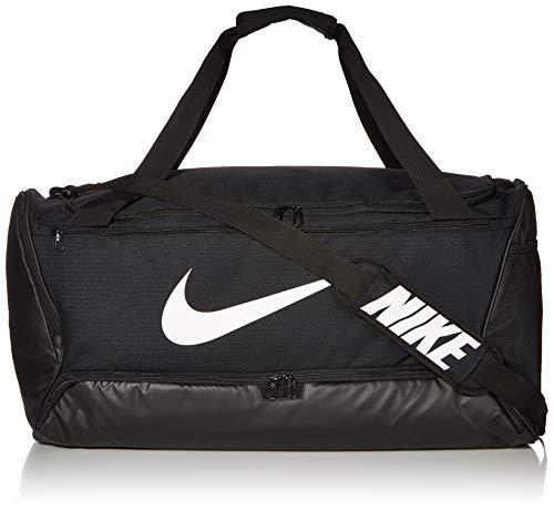 Nike Brasilia, Borsone Unisex - Adulto, Black/(White), Taglia Unica