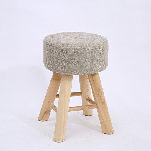 Solid wood bench sgabello in legno massello creativo sgabello in tessuto trucco sgabello sgabello da tavola casa nordica piccola panca (colore : d)