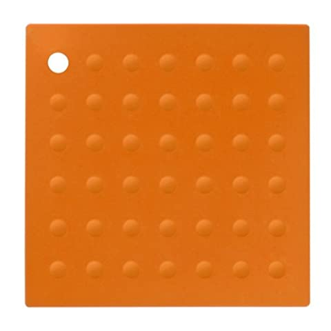 Premier Housewares 0805034 Zing Dessous de Plat Silicone Orange