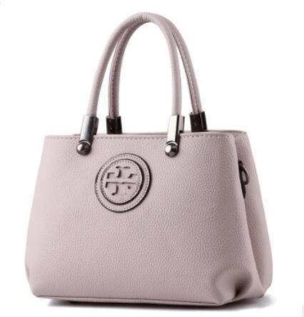 HQYSS Borse donna In pelle coreana PU Croce corpo donna tracolla Messenger Handbag , pink light gray