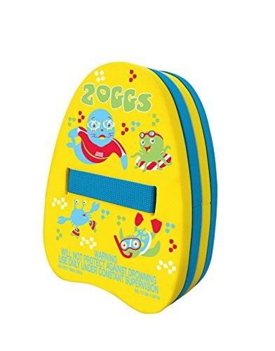 Zoggs Kinder Schwimmrucksack Back-Float Schwimmhilfe, Yellow/Blue, 14 x 6 x 23.5 cm