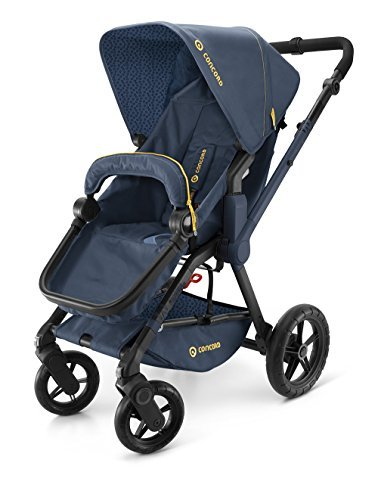 CONCORD KINDERWAGEN WANDERER, DENIM BLUE, KOLLEKTION 2015 by Concord 2004 S.A.