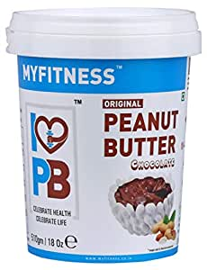 MYFITNESS Original Peanut Butter Chocolate 510g (Single Unit)