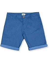 fd40b0cda9 Brava Fabrics - Pantalón Corto Hombre Estampado Azul - Bermuda Casual  Estampada - Shibuya -