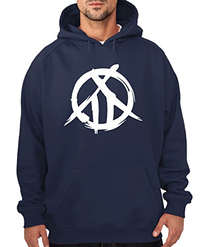 -- Mark of the Kabaneri -- Boys Kapuzenpullover Navy